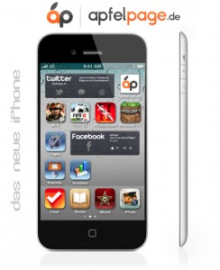 new iPhone 5 mockup