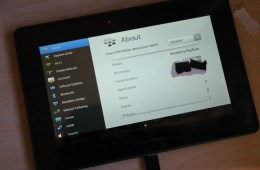 BlackBerry PlayBook 4G LTE Photos Surface