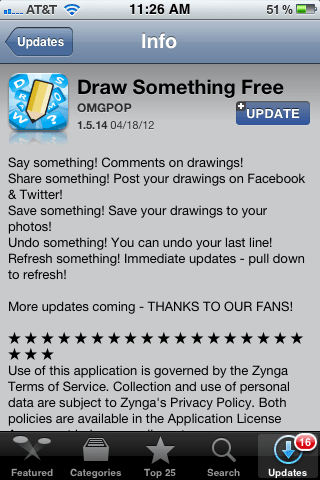 Draw Something for Android and iOS Gets Fantastic Update