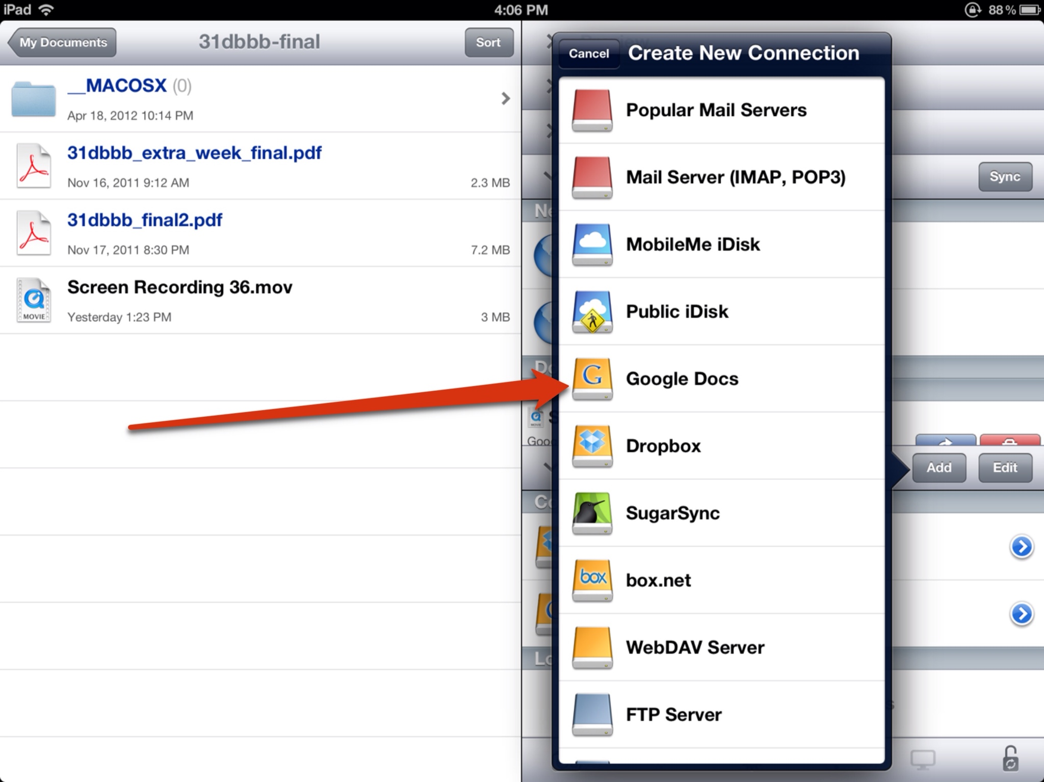 how to open pdf files on ipad