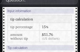 Calculate Tip - Split Tip - Siri 1