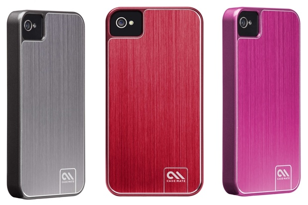 Case Mate Barely There Brushed Aluminum iPhone 4s case