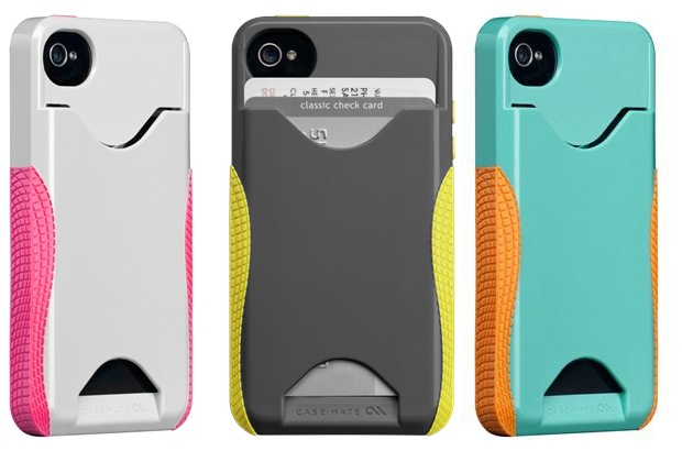 Case-Mate Pop! ID iPhone 4S Wallet Case