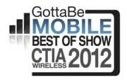 GottaBeMobile Logo-BestofShow CTIA 2012