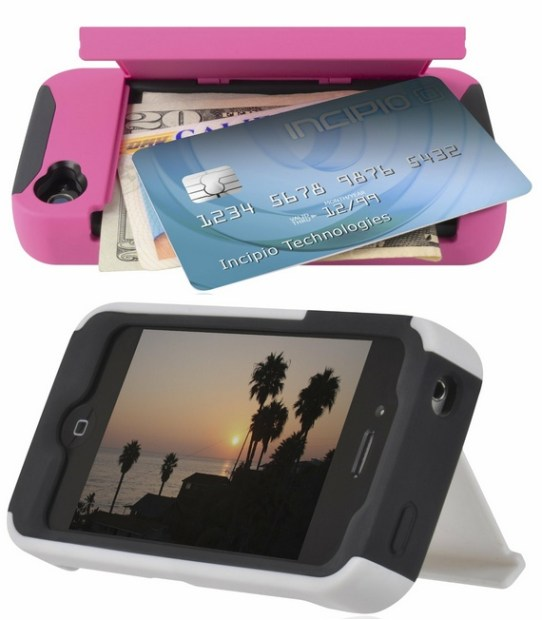 Incipio Stowaway Credit Card iPhone 4S case