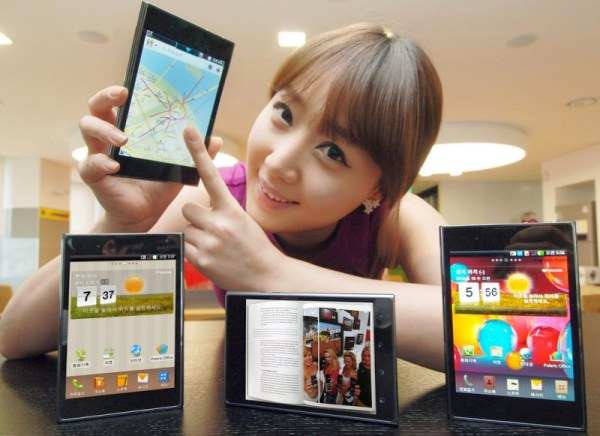 LG optimus Vu Hands On