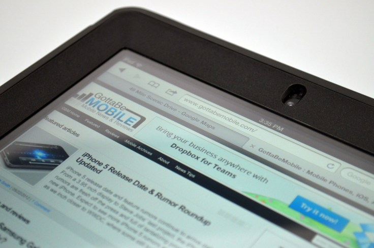 New iPad OtterBox Defender Case Review - Screen protector