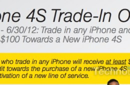 Sprint iPhone trade-in promotion