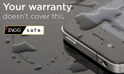 Zagg Offers ZAGGsafe, a Two-Year Warranty For Mobile Devices
