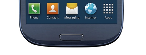 Galaxy S III Home button