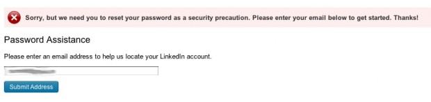 LinkedIn Security Breach