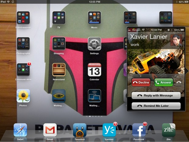 iPhone 5 iPad integration