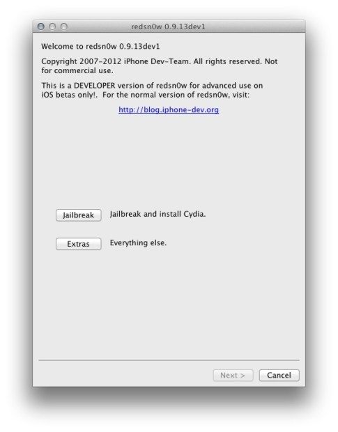 ios 6 beta jailbreak redsn0w