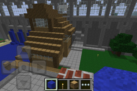 Minecraft would be fun on Apple TV