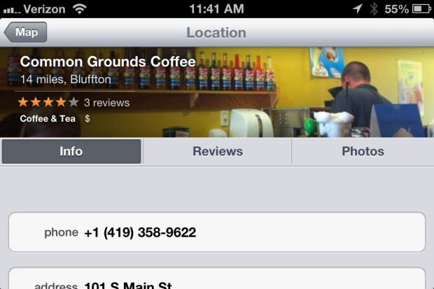 Business Data Apple Maps