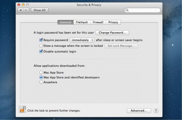 Gatekeeper Mountain Lion Security