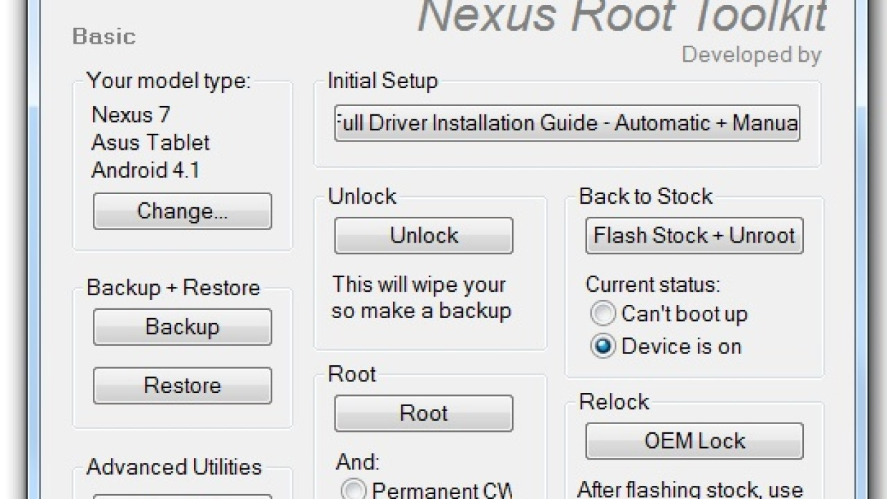 How to Root the Nexus 7 & Unlock the Bootloader