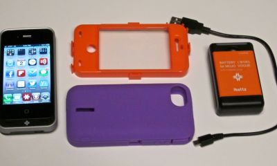 ibattz Mojo Armor Removable Battery Case for iPhone