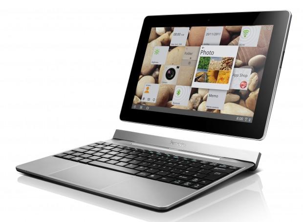IdeaTab S2 with keyboard dock