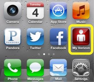 My Verizon app