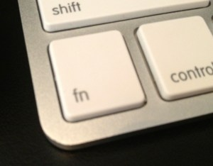 function key is your new best friend with dictation for OS X
