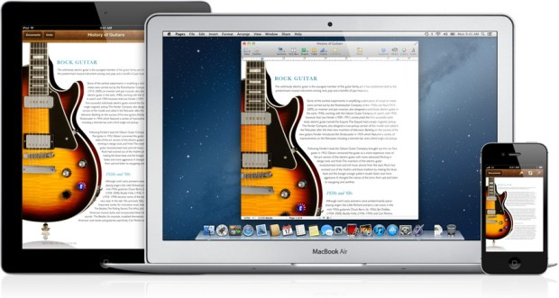 iCloud document syncing