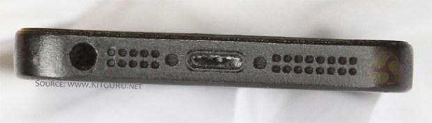 iPhone 5 dock connector engineering sample photo