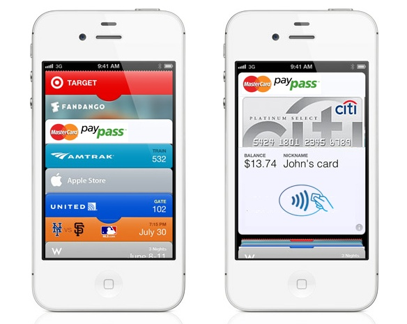 iPhone 5 mobile wallet
