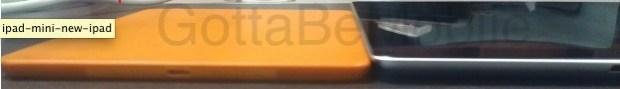 ipad Mini engineering sample thickness