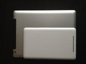 nexus 7 v iPad back