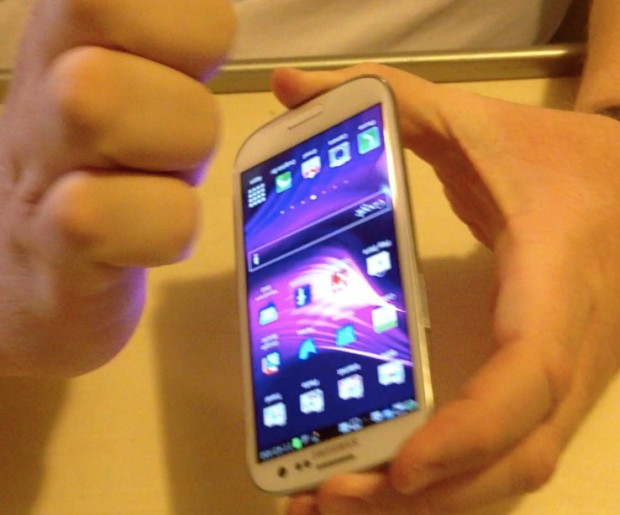 taking screenshots with the samsung galaxy siii