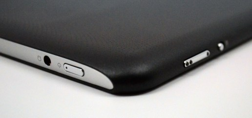 Acer iconia A700 Review - Buttons