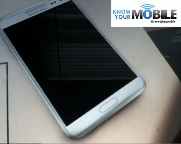 Galaxy Note 2 Photo