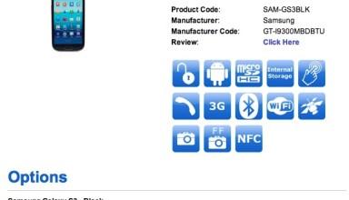 Galaxy S III 64GB Release Date October