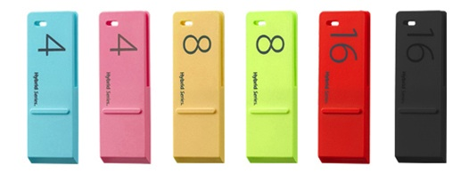 Hybrid series USB drives