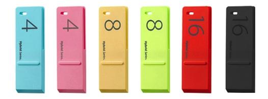 Hybrid series USB drives