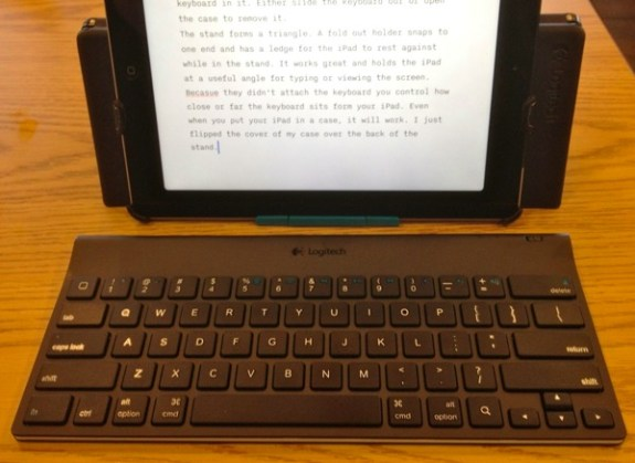 logitech tablet bluetooth keyboard