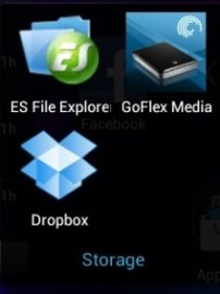Nexus 7 Apps - Storage