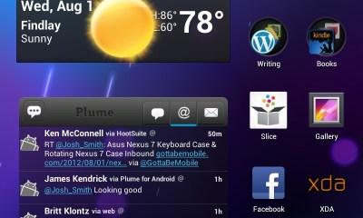 Nexus 7 HomeScreen 1