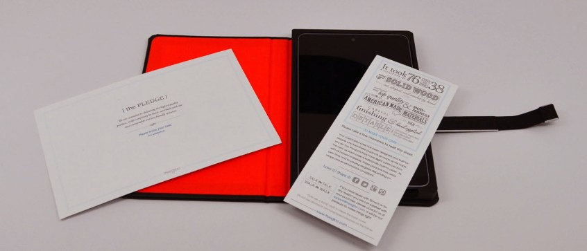TreeGloo Nexus 7 Case Review - pledge