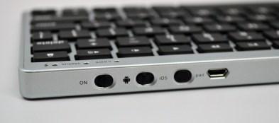 Zagg Flex Keyboard Review - Nexus 7 switches