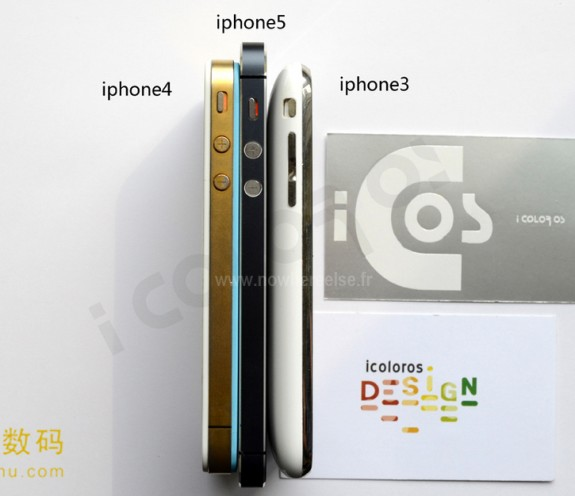 Assembled IPhone 5 Vs 4 Size Compared In New Photos