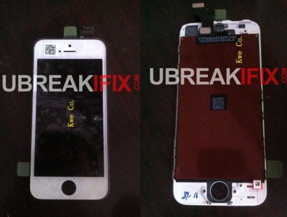iPhone 5 front panel with screen