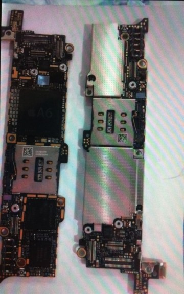 iPhone 5 logic board with A6
