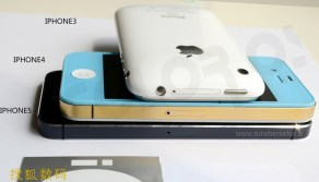 iPhone 5 thickness vs iPhone 4s