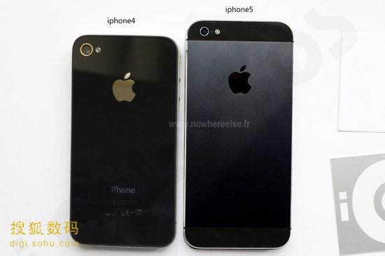 iPhone 5 vs iPhone 4