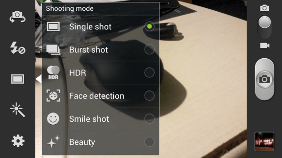 samsung galaxy s3 camera app