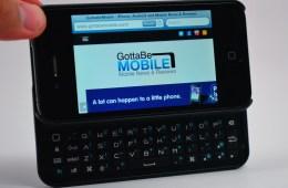 BoxWave Keyboard Buddy review - iPhone keyboard - 6