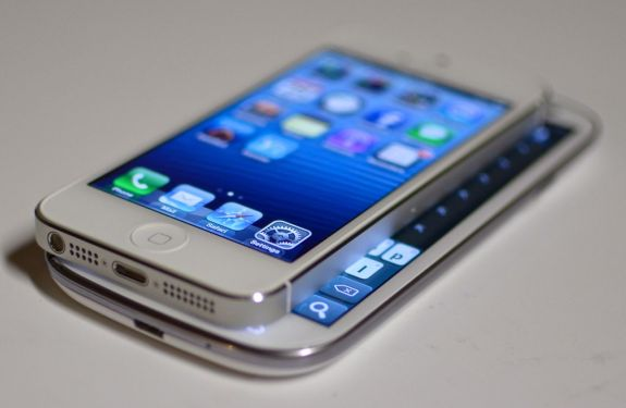 Galaxy S III vs. iPhone 5 Screen Size