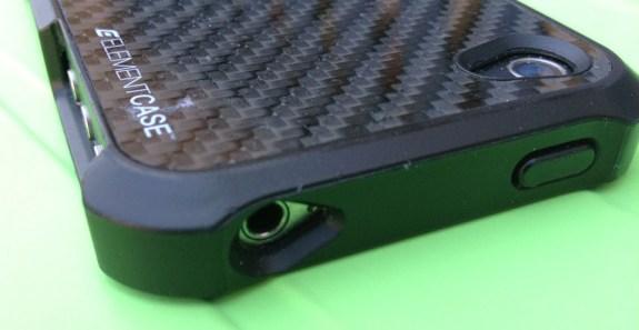 Element iPhone Case Headphone Jack
